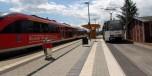 Eisenbahn- / Straßenbahnverknüpfungspunkt  Gera-Zwötzen