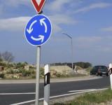 Kreisverkehrsfläche Hedemünden