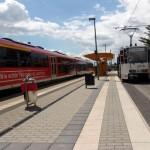 Eisenbahn-/Straßenbahnverknüpfungspunkt  Gera-Zwötzen
